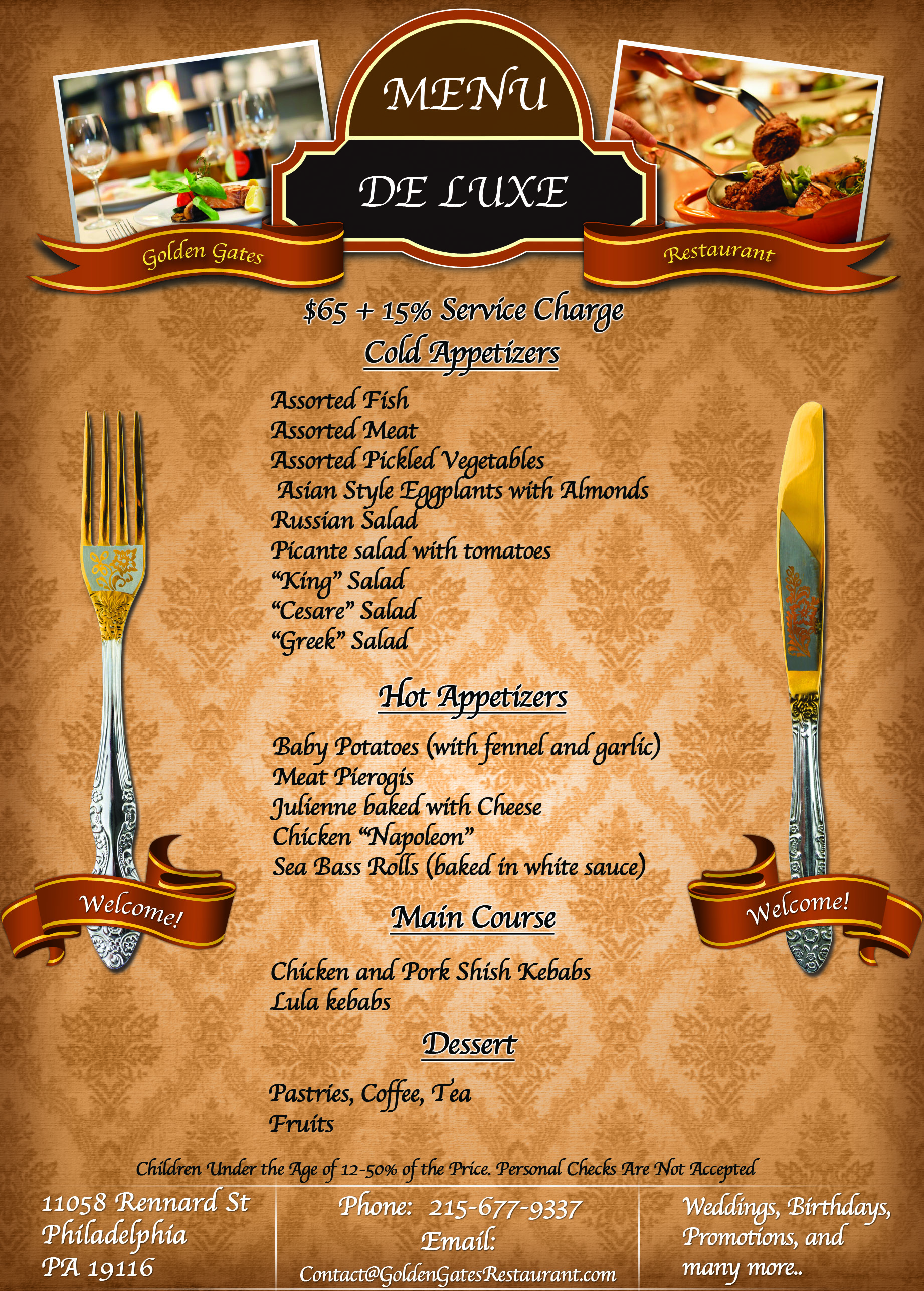 De Luxe Menu New 2